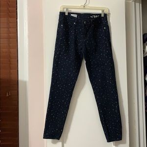 Gap legging jeans with print